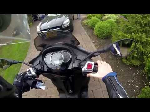 I ride the PIAGGIO MP3?! - CBR Mike