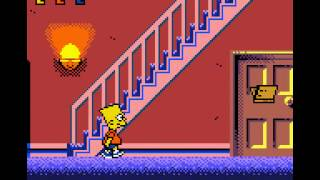 Game Boy Color Longplay [081] The Simpsons - Night of the Living Treehouse of Horror