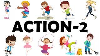 Học Tiếng Anh Chủ Đề Hành Động, Hoạt Động/Action-Part 2/ English Online