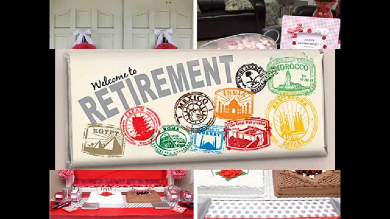 Diy Retirement Party Decorations