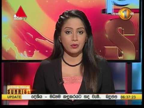 News1st Prime Time News Sunrise Sirasa TV 13th March 2017