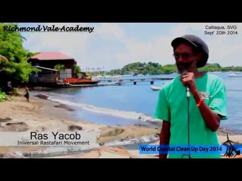 World Coastal Clean Up Day St. Vincent and the Grenadines 2014