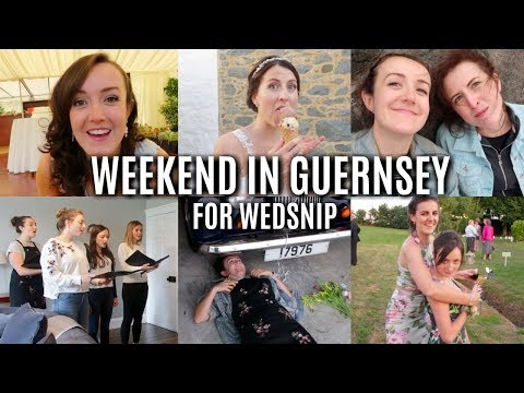 A weekend in Guernsey for Wedsnip | Vlog