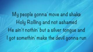 David Crowder - Run Devil Run - (with lyrics) (2016)