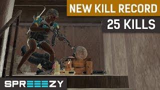 sprEEEzy\'s NEW KILL RECORD | 1 Man Squad PUBG