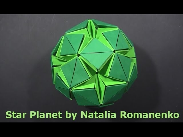 My Origami Kalami Star (Time Pape) - YouTube | 480x640