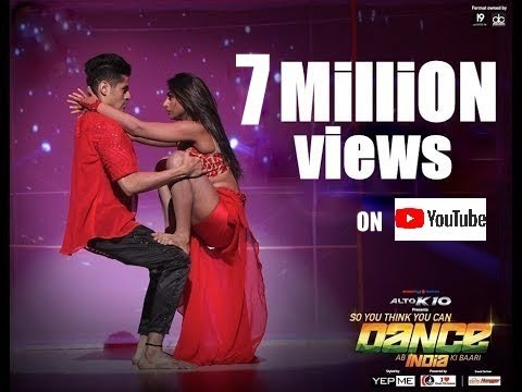EXTREMELY HOT DANCE by TARUN NIHALANI & MOHENA SINGH - SO YOU THINK YOU CAN DANCE SYTYCD
