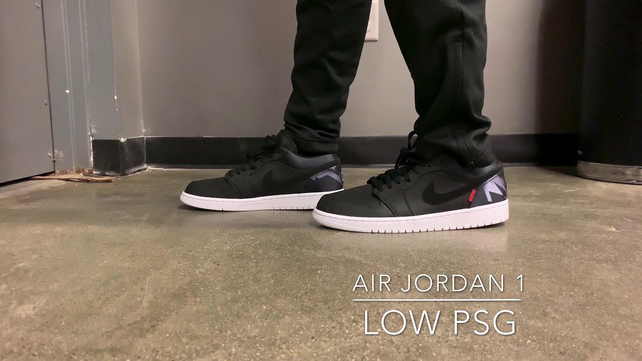 air jordan 1 low psg