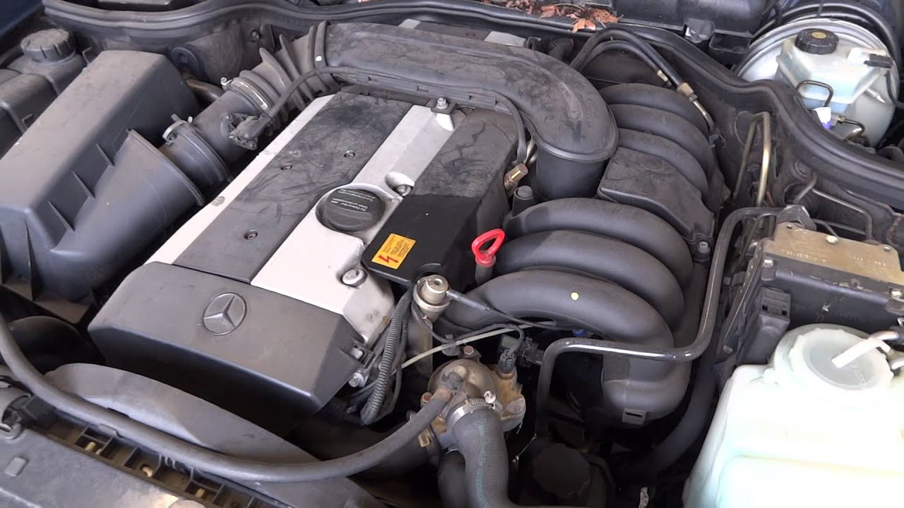 1997 Mercedes Benz E320 engine with 74k miles  YouTube