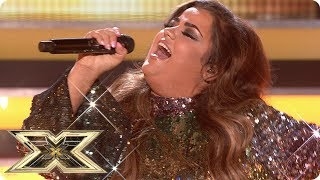 Scarlett Lee sings Can't Take My Eyes Off You | Live Shows Week 5 | X Factor UK 2018