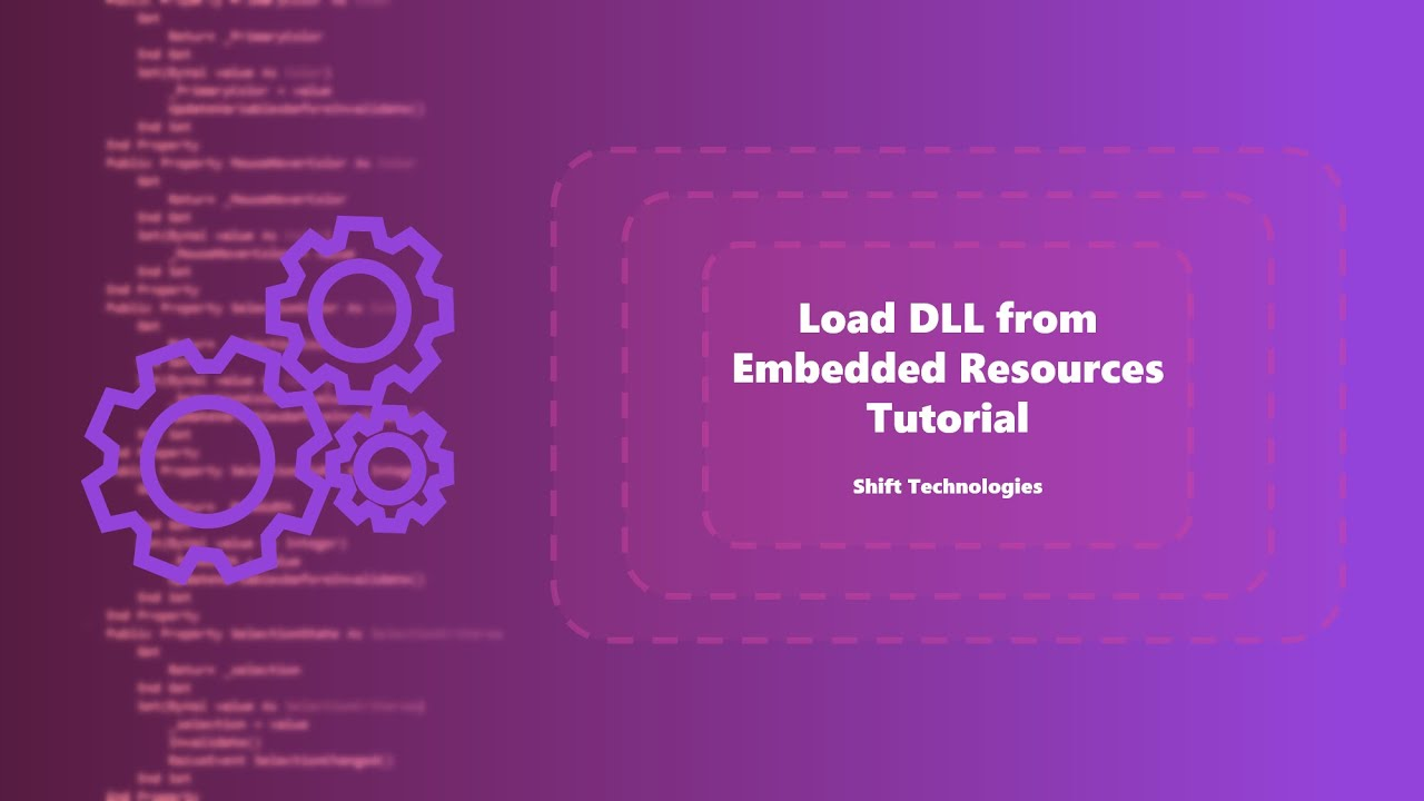 Load DLL From Embedded Resource | Embed References | Tutorials | VB NET/C#