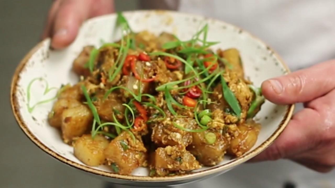 Singapore carrot cake recipes