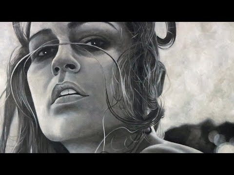 Freehand Female Figure Oil Painting Speed Art Video