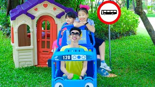 The Wheels On The Bus Song  Nora Family Show