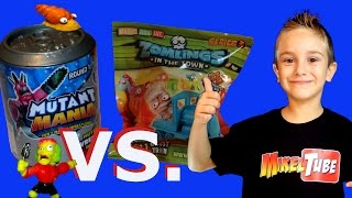 Juguetes Mutant Mania vs. Zomlings los mejores sobres sorpresas en Español