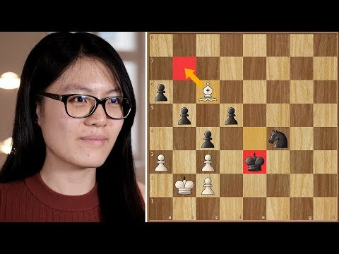 You Snooze, You Lose | Caruana Vs Hou Yifan | Grenke Chess Classic 2018.