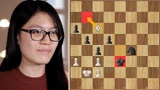 You Snooze, You Lose   Caruana vs Hou Yifan   Grenke Chess Classic 2018.