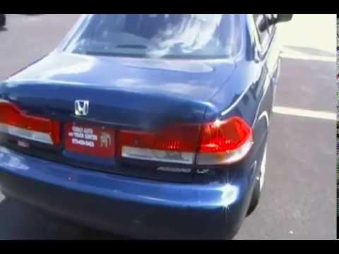 2002 honda accord sedan 4d sedan lx grand junction for Grand junction honda