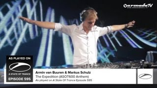 Armin van Buuren & Markus Schulz - The Expedition (ASOT600 Anthem) (As Played on ASOT 595)