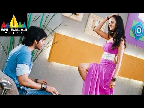 Adda Movie Shanvi and sushanth Comedy in Trail Room  Sushanth, Shanvi  Sri Balaji