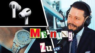 Marc Gebauer MEINUNG ZU Rolex, Fakes & Airpods Pro ⚡ JAM FM