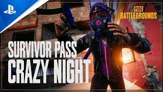 PUBG Battlegrounds - Survivor Pass: Crazy Night | PS4
