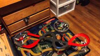 2011 team hot wheels spiral speedway playset review