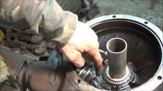 Ремонт автомобіля ГАЗ 24 задній міст ремонт Піввісь зняття підшипника мій метод