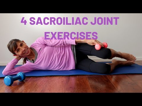 4 Simple Sacroiliac Joint Exercises for Pelvic Strength & Stability