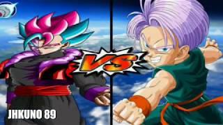 Dragon Ball Z Budokai Tenkaichi 3   El momento de COPY BLACK VEGOTTA ( FUSION GOGETA Y VEGETTO )