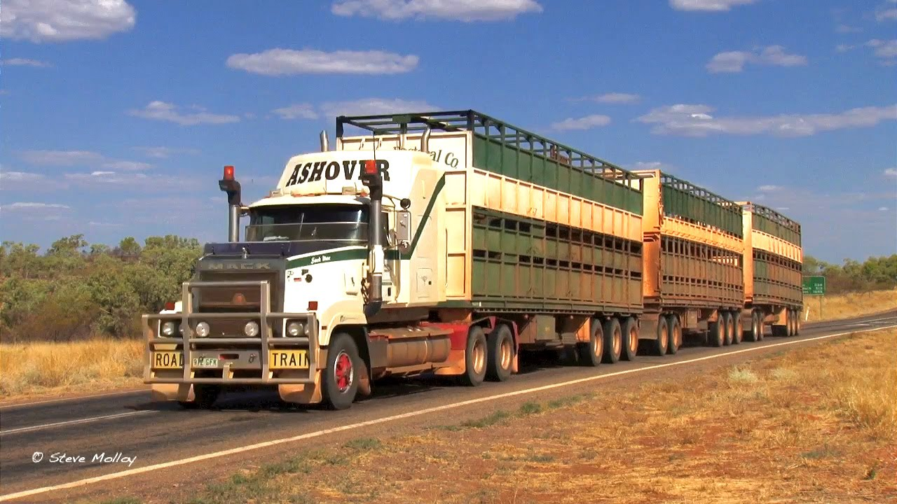 Australian Trucks Compilation 1 - YouTube