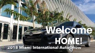 2018 Miami International Auto Show is back!