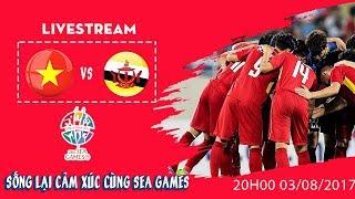 [PHÁT LẠI] VIỆT NAM vs BRUNEI | VÒNG BẢNG SEA GAMES 28 | SINGAPORE 2015