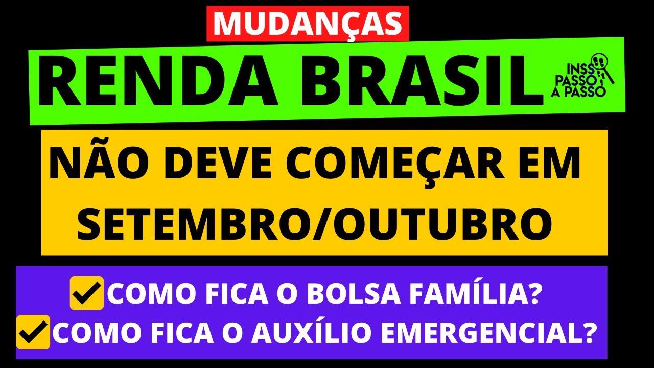 MUDANÇAS NO RENDA BRASIL: BOLSA FAMÍLIA I MEI I INFORMAL I EMPREGADO, VÃO ENTRAR NO RENDA BRASIL?