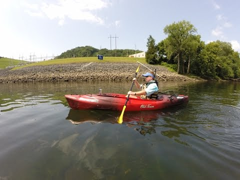 OLD TOWN VAPOR 10 ANGLER KAYAK REVIEW / OVERVIEW