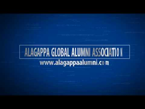 Dr. Ramakrishnan on AGAA | Alagappa Global Alumni Meet 2018