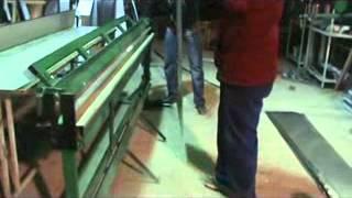 Видео урок - листогиб изготовление ендовы