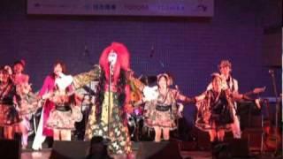 Vietnam Festival 2010 のステージ。氏神アジワン「ハノイ」