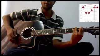 Chaite Paro 1 By Aurthohin - Bangla Song Complete Guitar cover Lesson