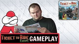 Ticket to Ride: Europe - Board Crazy Plays...