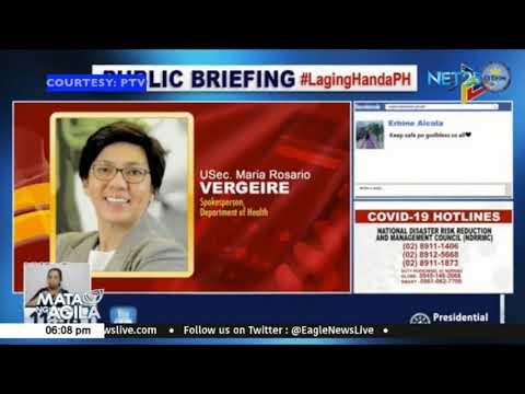 Vergeire, pinabulaanan ang sinasabing ibabalik sa ECQ ang NCR, Laguna at Cebu matapos ang June 15