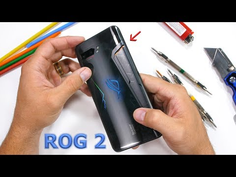 ROG Phone 2 Durability Test! - Most Powerful Smartphone?