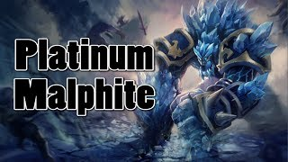 League of Legends - (Counter) Platinum Malphite