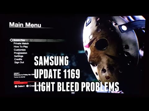 Problems with Samsung 1169 update