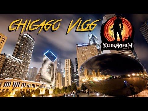 NetherRealm Studio Tour / Chicago Vlog (MKX Capture Event)