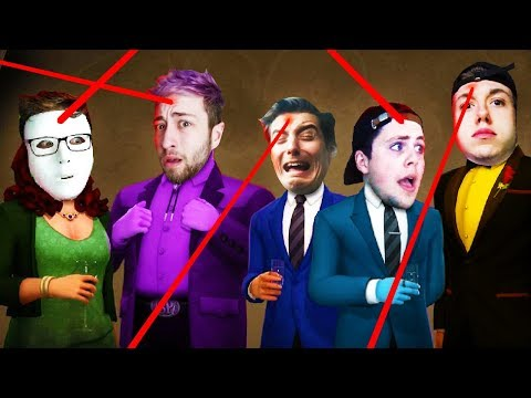 IF YOU SHOOT THE WRONG PAL, YOU LOSE! (The Pals play Spy Party)