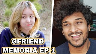 FIRST TIME REACTION TO GFRIEND's MEMORIA EP.1 ENG SUB