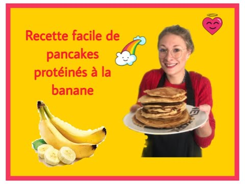 recette-facile-de-pancakes-protÉinÉs-À-la-banane-!!