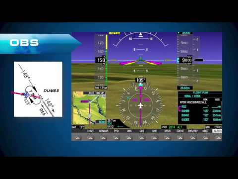 Garmin G1000 IFR - Manual Holding