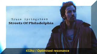 Bruce Springsteen - Streets Of Philidelphia 432hz Frequency | 432 hz conversion (a=432hz)